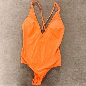 H&M Orange Swimsuit